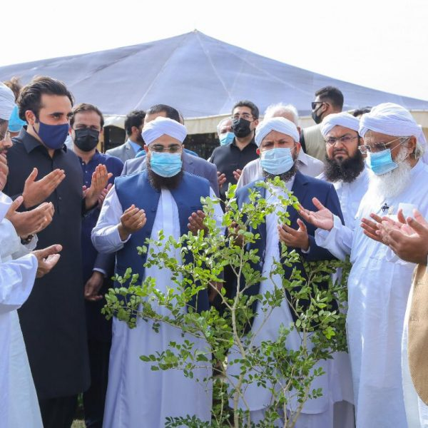 Some glimpses from Monsoon Plantation 2021 Ceremony Held in Bagh Ibn e Qasim,Karachi.